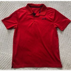 Under Armour boys polo sz L
